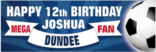 Dundee Birthday banner